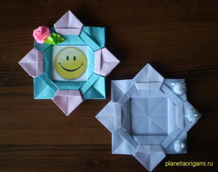 рамки в технике оригами