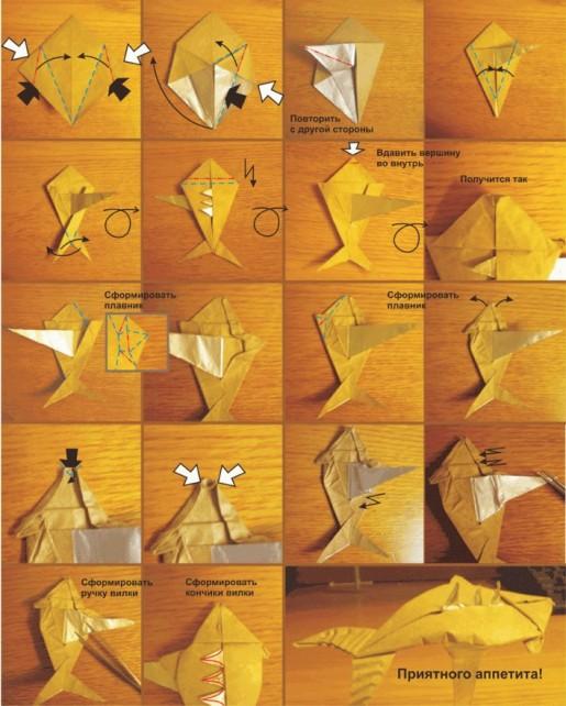 схема сборки рыбки на вилке2