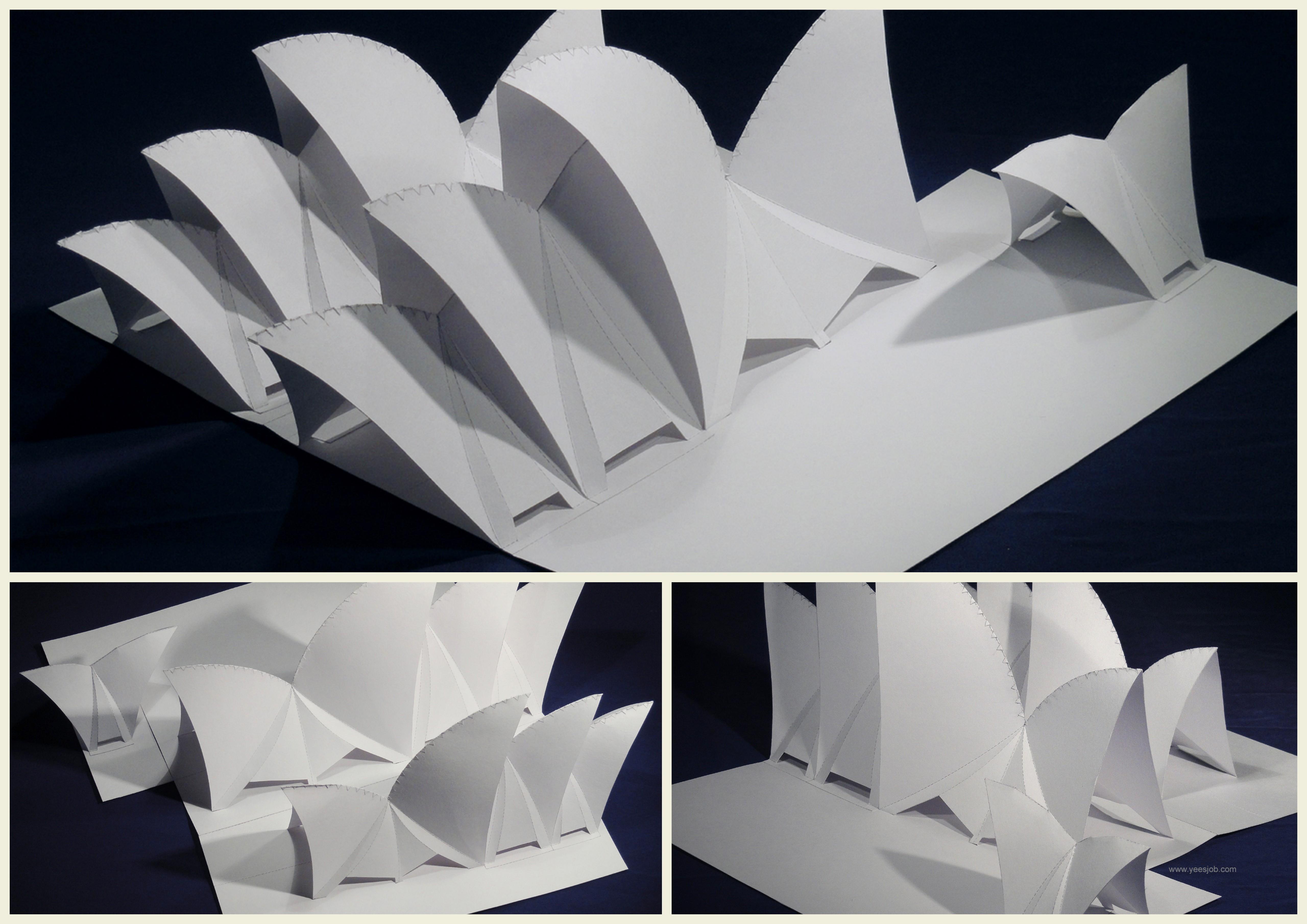 Поделки из бумаги достопримечательности 41