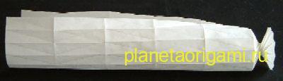 пружинка из бумаги