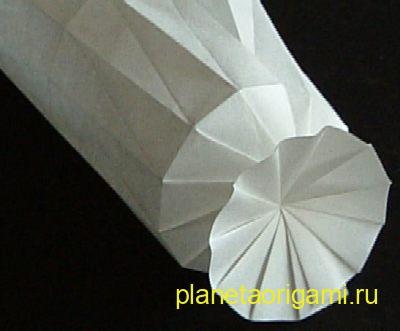 бумажная пружинка