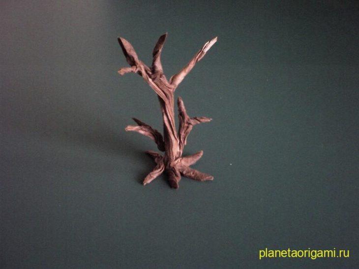 Сухое дерево по схеме Cu Kim