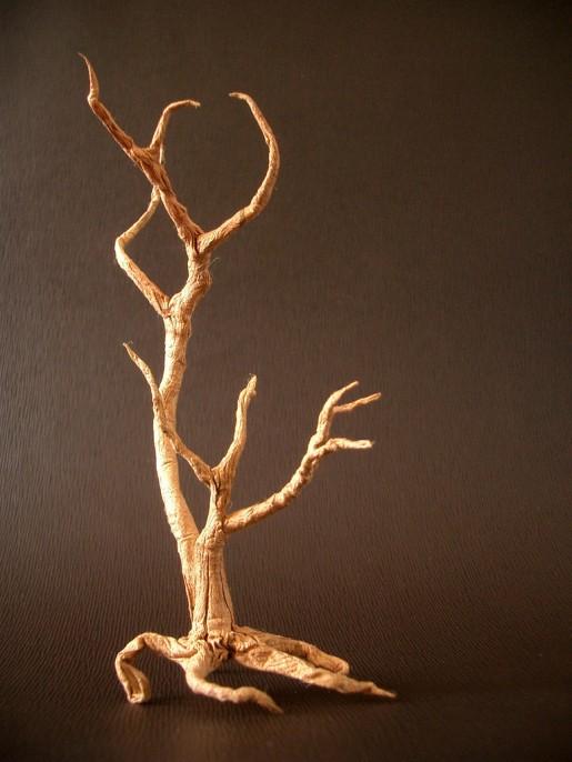 сухое дерево оригами