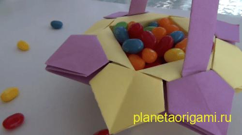 корзинка для конфет