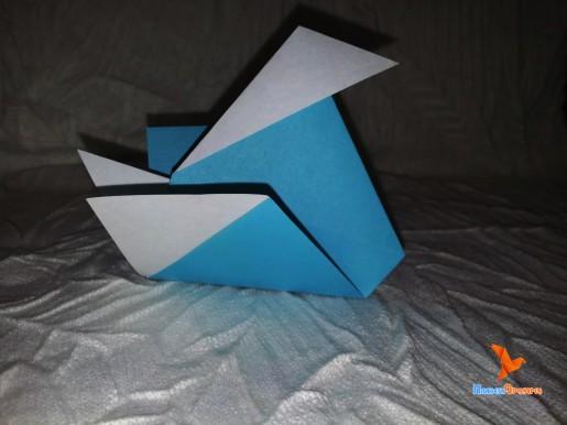 бумажная утка по схеме едвина кори