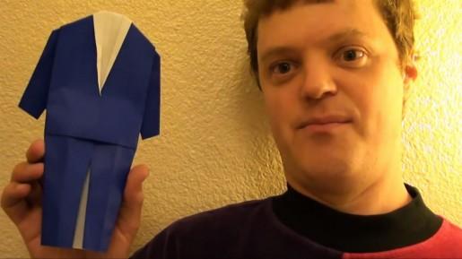 костюм из бумаги