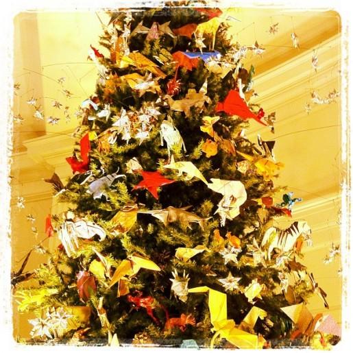 Новогодняя елка на выставке