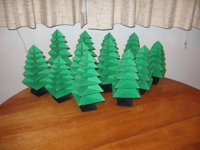 елки из модулей
