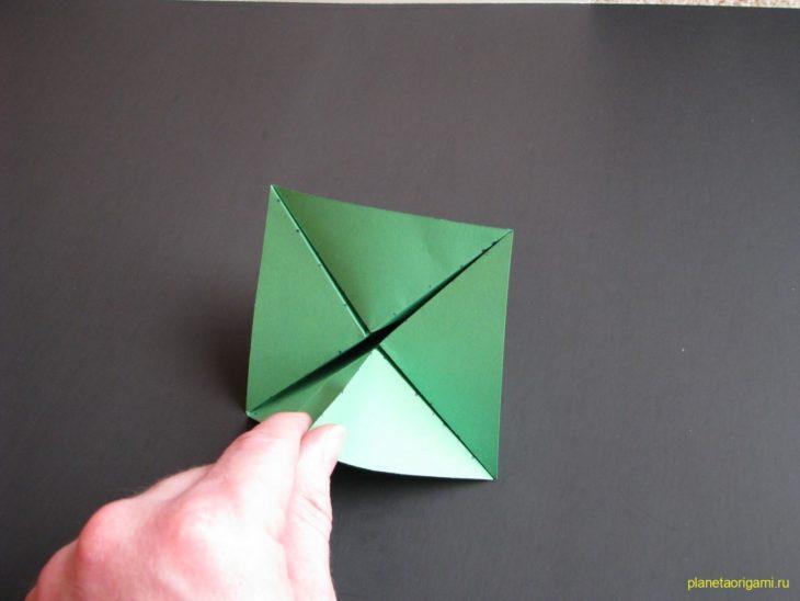 284Как сделать дерево из бумаги оригами своими руками