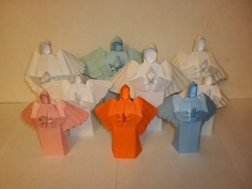 ангелы из бумаги