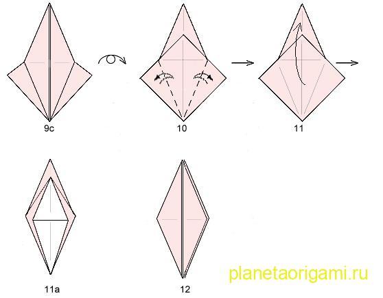 схема сборки базовой формы
