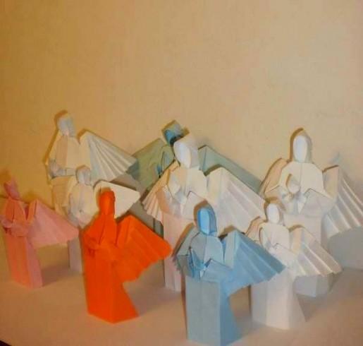 бумажные ангелы от Евгения Вихляева