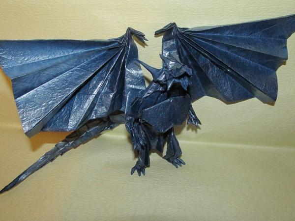 Оригами из бумаги животные по схемам легко 2
