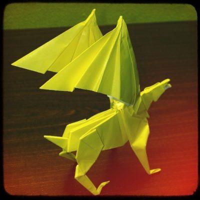 Гиппогриф оригами