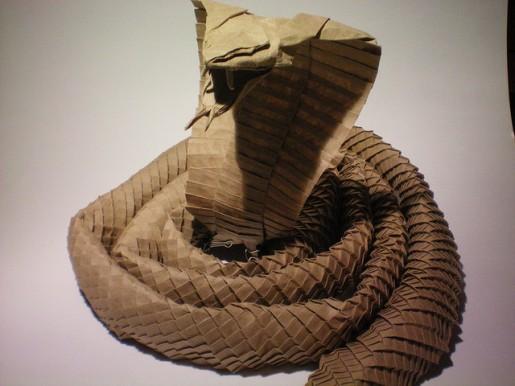кобра оригами