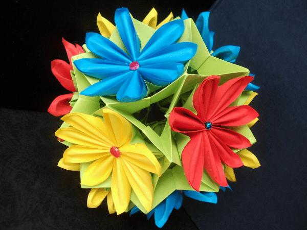 оригами 8 марта