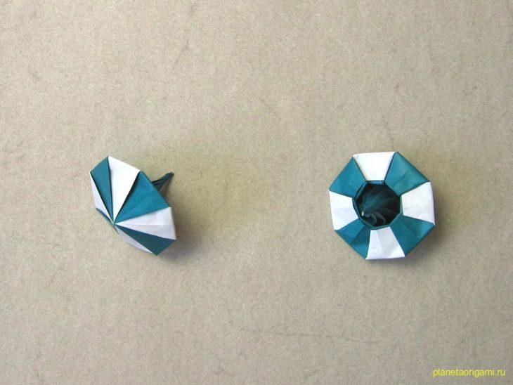 Юла оригами