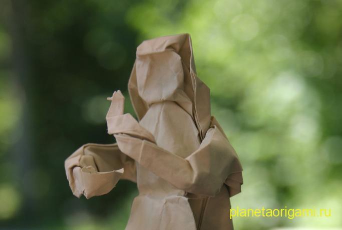 Оригами Золушка по схеме Peter Stein
