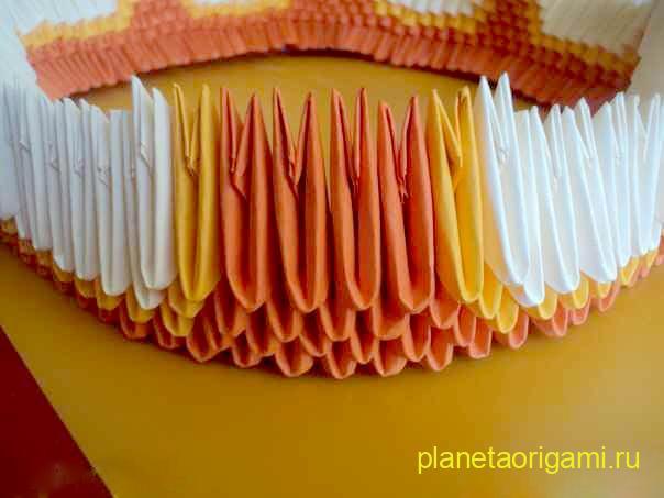 Сборка оригами композиции от Натальи Хоменко