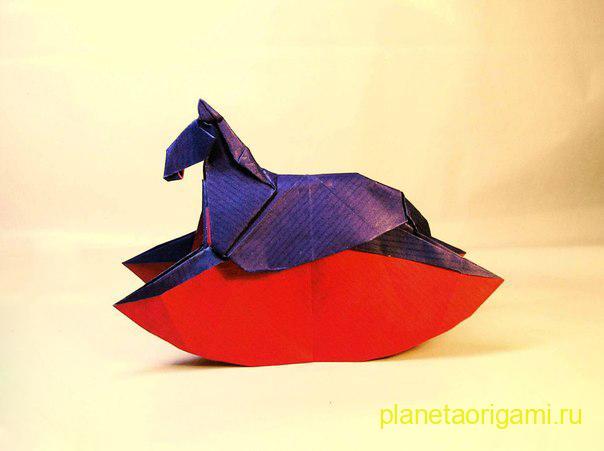 Конь-качалка по схеме Ronald