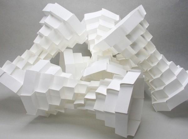 3D-оригами профессора Джуна Митани