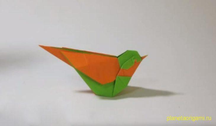 Простая оригами схема: голубь мира » путь оригами.