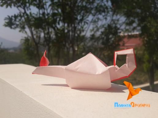 бумажная лампа алладина