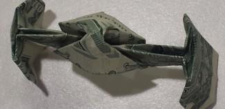 оригами Tie Fighter