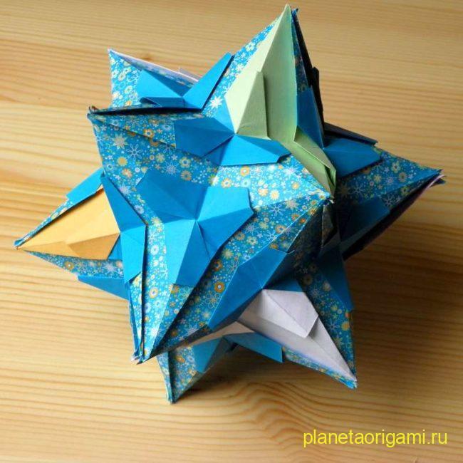 Звездчатый додекаэдр от Анны Алексеевой