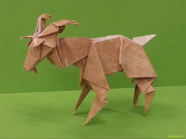 Оригами козел