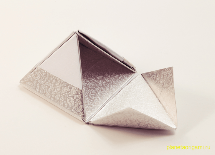 звездная коробочка оригами
