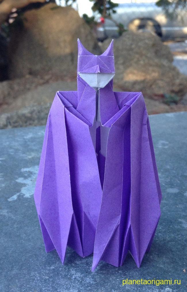 оригами модель бэтмена