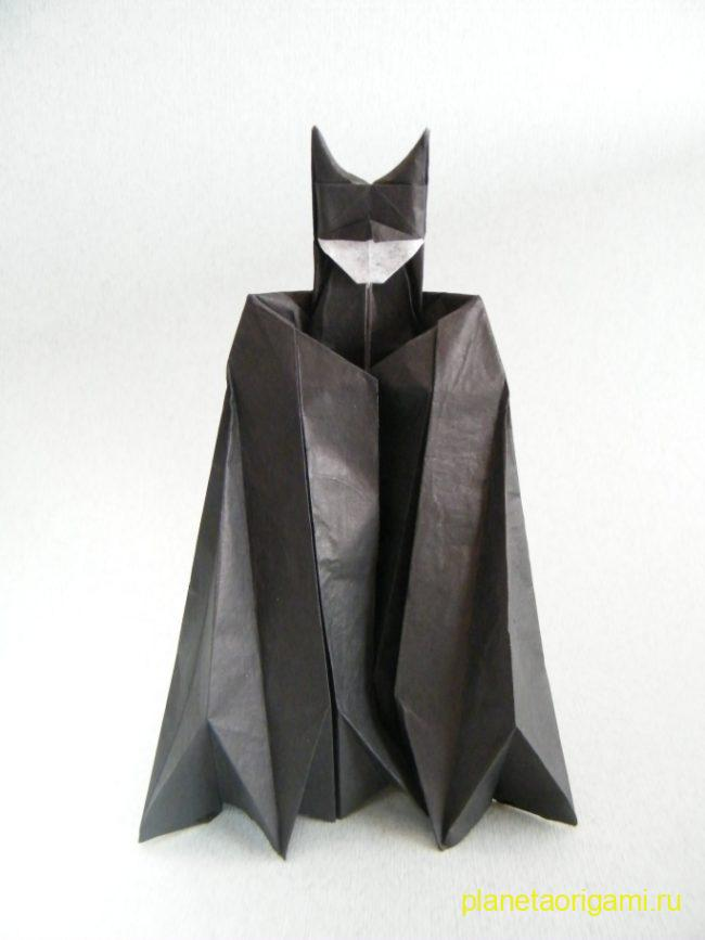 Origami BATMAN by Angel Morollon Guallar