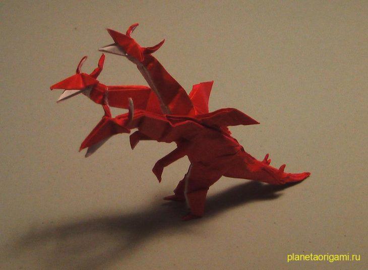 Трехглавый дракон по схеме J.