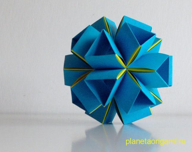 Snapology Icosahedron