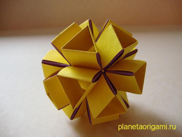 Snapology Icosahedron Heinz Strobl