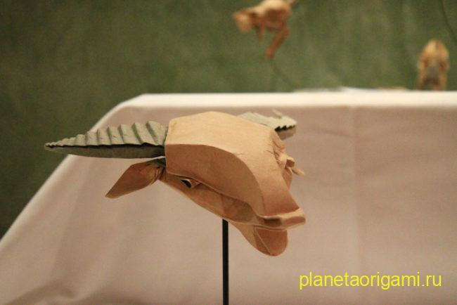 Origami Ox (Bernie Peyton)