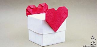 Коробочка с сердечками от Tadashi Mori