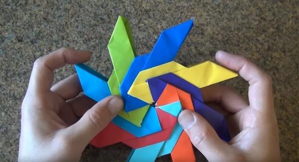Объёмный сюрикэн-трансформер от Джереми Шейфера