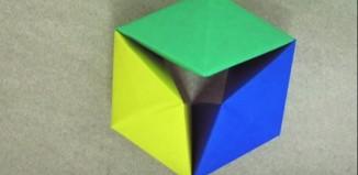 Вращающийся тетраэдр по схеме Tomoko Fuse