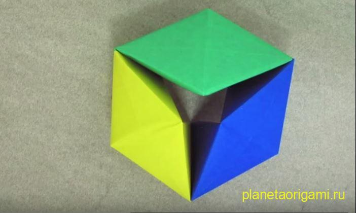 Поделки из бумаги тетраэдр оригами 35