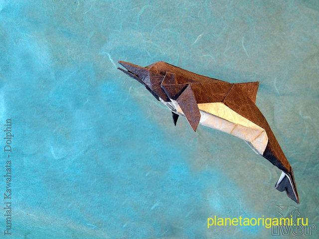 Дельфин по схеме Fumiaki Kawahata