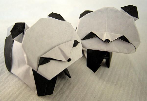 Панда по схеме Akira Yoshizawa