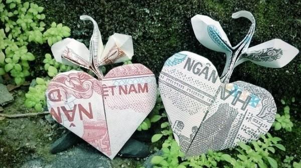 Деревце из сердечка (Heart grow tree) от Đào Anh Tuấn