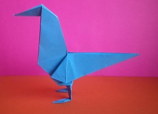 Певчая птица по схеме Роберта