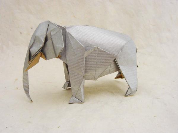 Слон по схеме Satoshi Kamiya