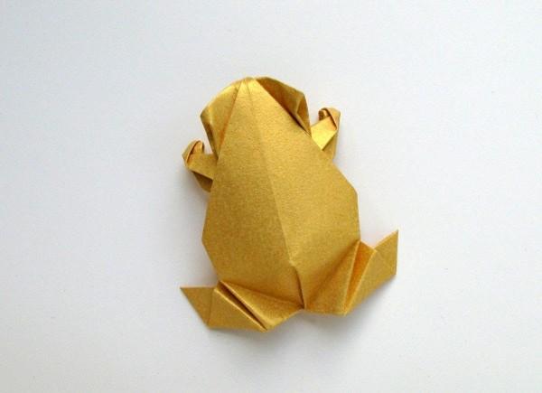 Лягушка в доколумбовом стиле от Leyla Torres