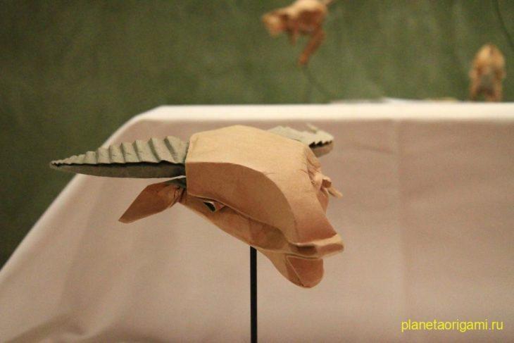 Голова буйвола по схеме Bernie Peyton