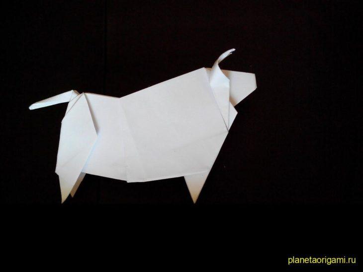 Оригами бык от Alexander Kurth