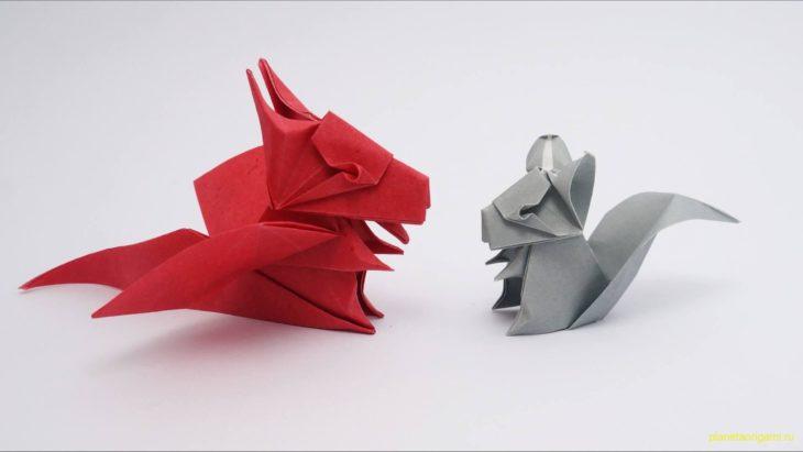 Дракончик (Baby Dragon) по схеме Jo Nakashima
